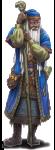 D&D 5e human wizard